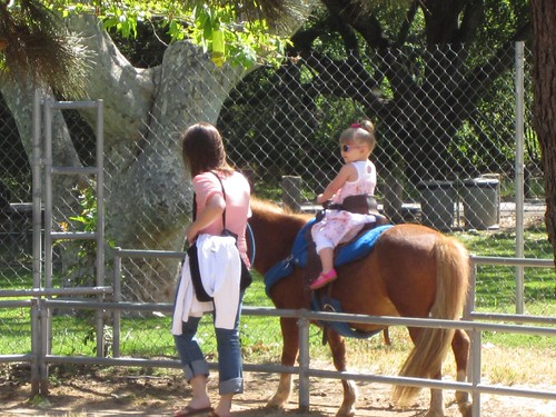 Pony ride at Irvine Park