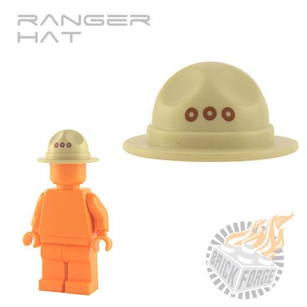 Ranger Hat - Tan (grommet print)