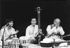 "with Maestro Ali Akbar Khansahib & Ustad Zakir Hussain • <a style=""font-size:0.8em;"" href=""http://www.flickr.com/photos/35985863@N07/5817218330/"" target=""_blank"">View on Flickr</a>"