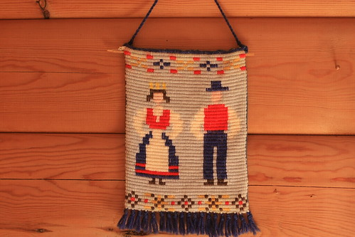 The embroided bunad couple
