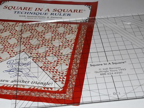 Square in a Square big ruler