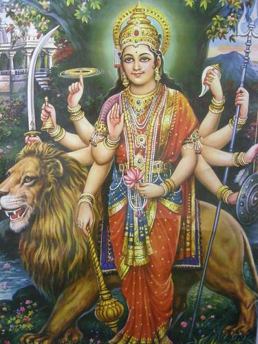 Ma Durga by Ash_Patel.