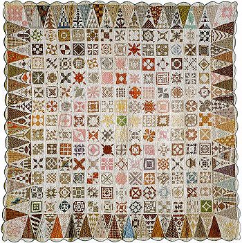 Jane A. Stickle's quilt, Civil War era