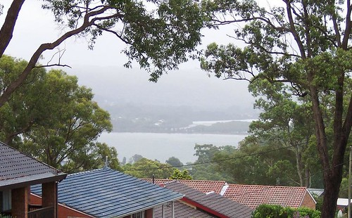 Fagans Bay from Bay View Avenue East Gosford