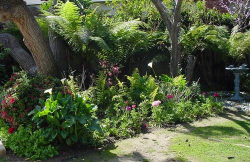 """Romantic garden"""