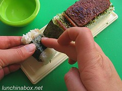 How to make spam musubi (#14 of 21)