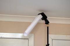 hairlight setup 02 (L R Scott) Tags: light d50 dark nikon noir flash 40s homestudio hairlight strobist hairlightsetup