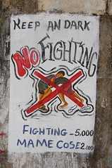 No fighting in the Cemetery (american lady) Tags: cemetery sierraleone ascension freetown