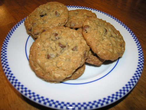 Peanut Butter and Oatmeal Chocolate Chipsters ...