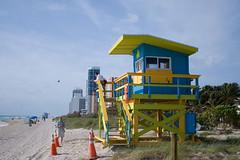 Life Guards at North Beach Miami