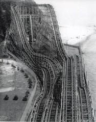 The Comet roller coaster, Crystal Beach Ontario (stevesobczuk) Tags: lake ontario canada beach wooden roller rollercoaster erie comet coaster crystalbeach
