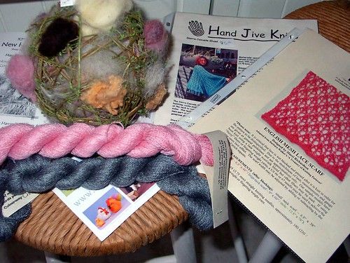 What I bought at the NH Sheep & Wool Festival
