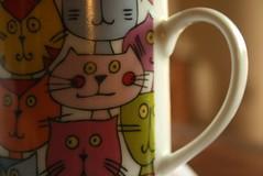 una taza (Analía Acerbo Arte) Tags: cat gatos mug taza