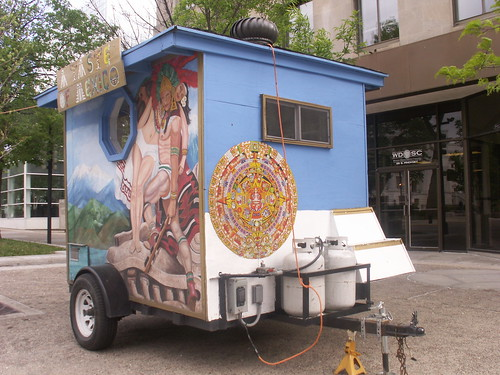 Downtown Madison Mexican Food Cart