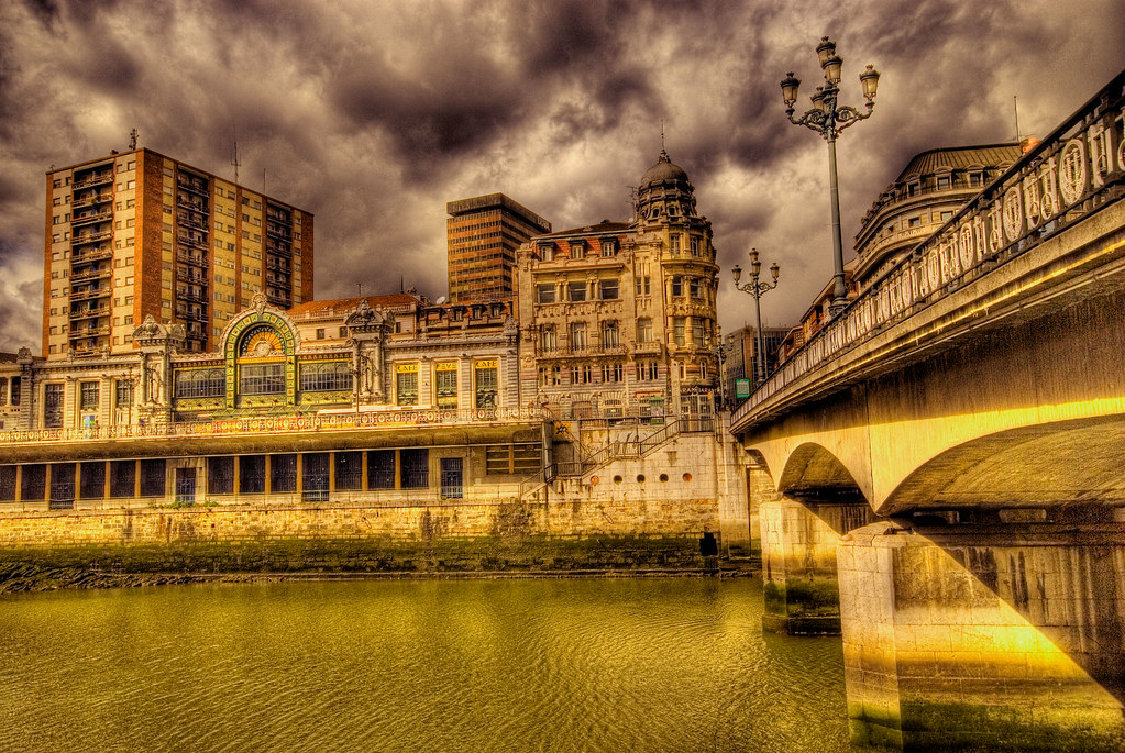 Photo du Pays Basque n°2. La ville de Bilbao