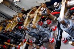 Industrie motorendag 2008: 1952 4VD7 engine of the Rosa (Michiel2005) Tags: boot diesel engine nederland valve motor industrie alphenaandenrijn alphen klep scheepsdiesel industriedag industriemotordagen industriedag2008