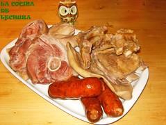 Cocido repollo-fuente carnes diag.
