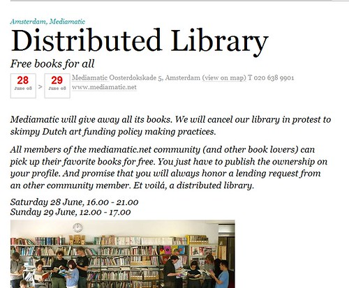 Distributed library