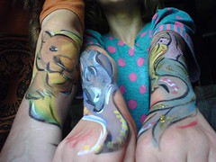 3 body art arms