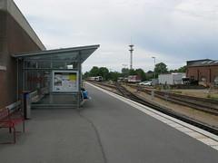 Niebll neg bahnhof (Howard_Pulling) Tags: station germany bahnhof german neg niebull hpulling howardpulling