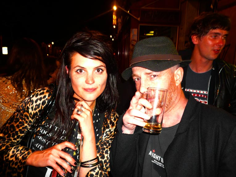 Paris Party Longchamp 60 Elysee montmartre Alison VV Mosshart The Kills