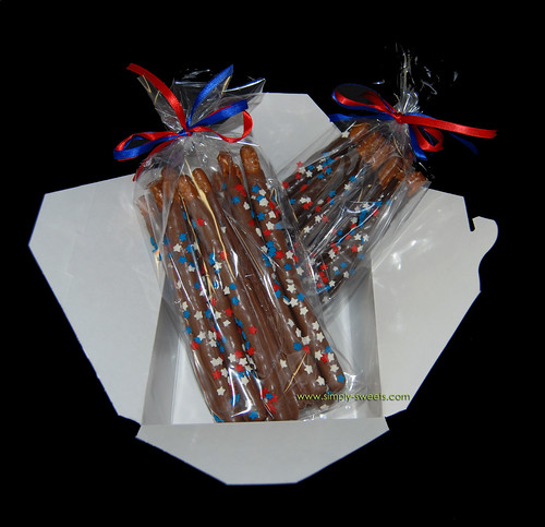 4th of July Pretzels dozen per bag
