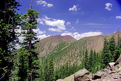 Humphreys Summit from Agassiz - San Francisco Peaks Wilderness (Al_HikesAZ) Tags: county arizona southwest hiking hike explore alpine flagstaff wilderness sanfranciscopeaks snowbowl saddle coconino humphreys coconinonationalforest kachina coloradoplateau agassiz coconinocounty flickrsbest azwexplore azhike alhikesaz flagstaff1