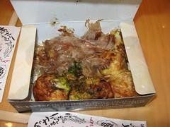 Mitsuwa Marketplace: Kukuru - takoyaki (uncovered)