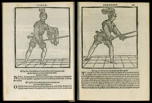L'arte de l'Armi by Achille Marozzo, 1536 a