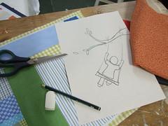 0020 (AP.CAVALARI / ANA PAULA) Tags: baby dolls arte handmade artesanato fabric bebe patchwork cor desenho quadros tecido anapaulacavalari