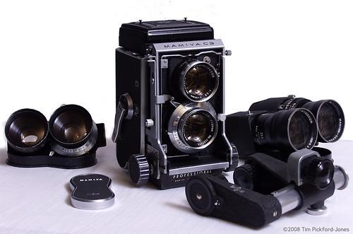Camera Mamiya C3