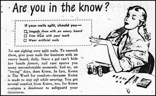 LHJ 1946 Kotex #1