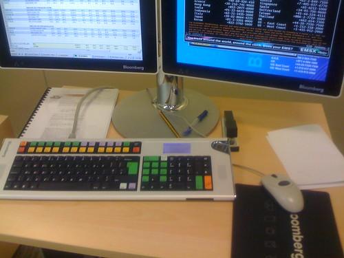 Bloomberg desk