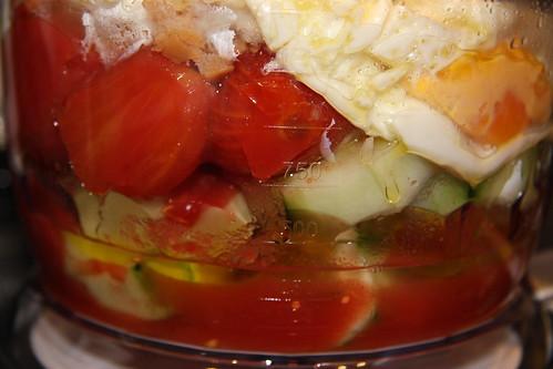 Gazpacho Ingredients - Preblend
