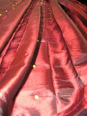 pleats progress close-up