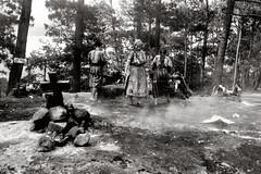 Ceremonia Sagrada (Rai 幻の光) Tags: camera white mountain black art film blanco stone 35mm canon fire guatemala smoke prayer negro ceremony rangefinder ritual 100 canonet ql17 giii chichicastenango chs centralamerica centroamerica adox