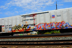 Ricks / Gash on ARMN (All Seeing) Tags: up al sac gash unionpacific ricks atlarge uprr armn buildingamerica skateallcities