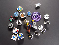 Space and Time (Ble Star) Tags: chicken lego 11 rory mocpages moctag