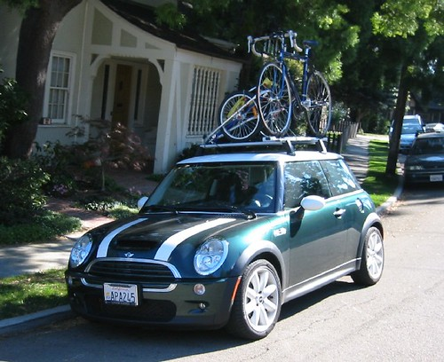 MINI Roof Rack in Action