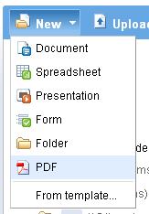Google Docs PDF