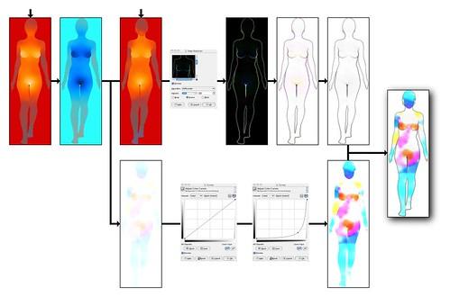 Female erogenous zones diagram speaking, advise