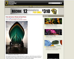 Mi foto en National Geographic (www.dariovargas.cl) Tags: revista national portales alegria ng geographic sueo caleta publicacion dariovargas fotosdellector