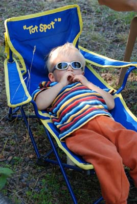 a lounging owen