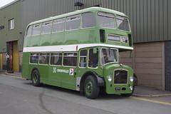 Crosville bus no. DFG 38 (f22photographie) Tags: uk bus buses birkenhead wirral vintagebus canoneos5d crosville preservedbus bristolbus wirralpeninsular