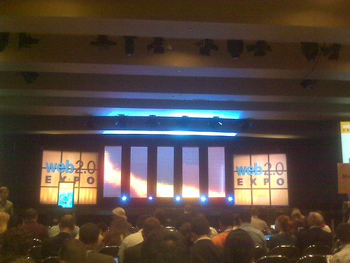 Web 2.0 Expo stage