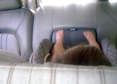 Back Seat Feet