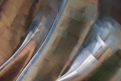 (Alan Wentworth) Tags: seattle detail metal architecture modern gehry sfm frankgehry xmp