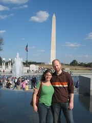 World War II memorial and Washington Monument Pictured: Erin McAnoy Kevin McAnoy