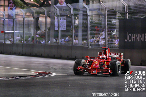 2008 Formula 1 Singapore Grand Prix | Narrowband.org Images