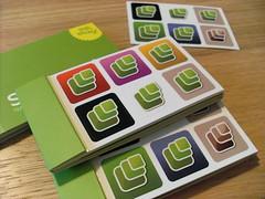 Microformats Moo Stickers